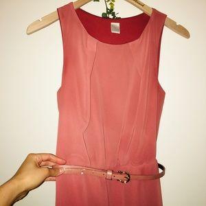 🍂3/$9! Twik Terra Cotta Orange Belted Dress